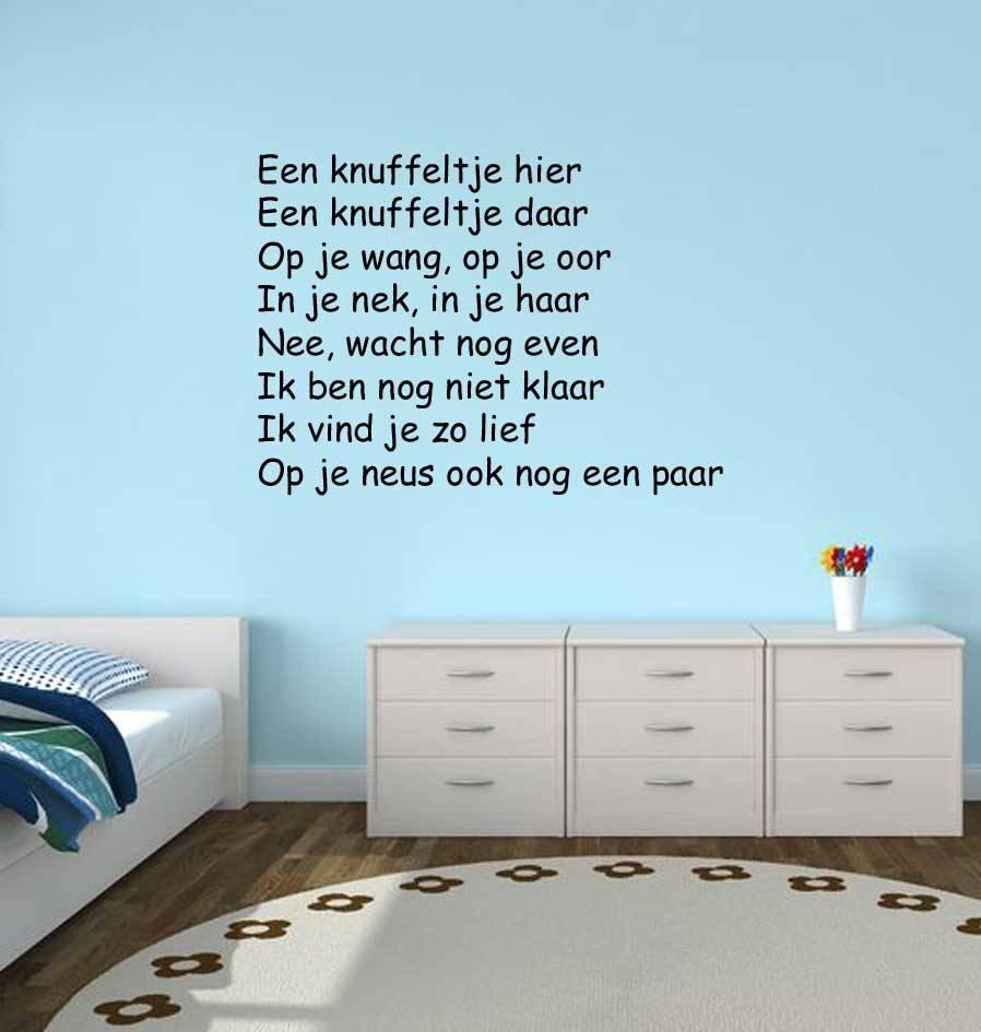 Texte néerlandais:  ''Een knuffeltje hier''