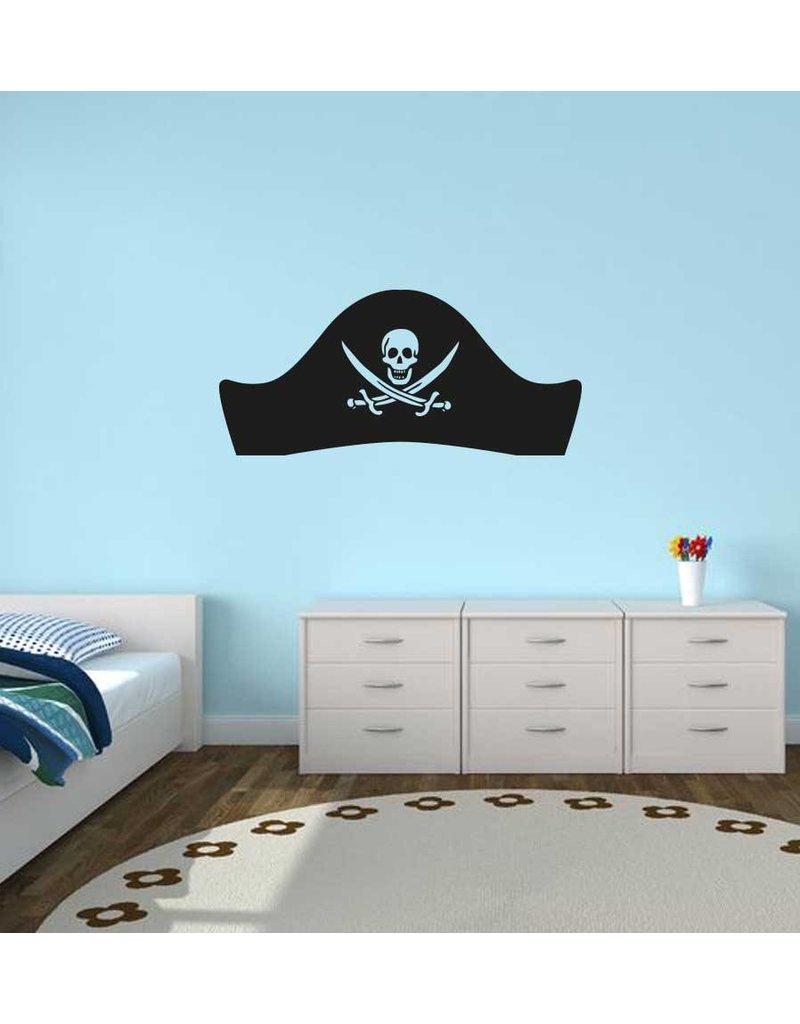 Chapeau de pirate autocollant
