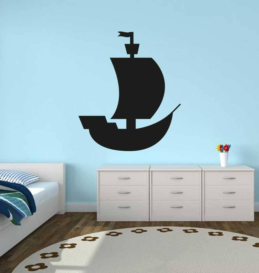 Pirate Ship Sticker