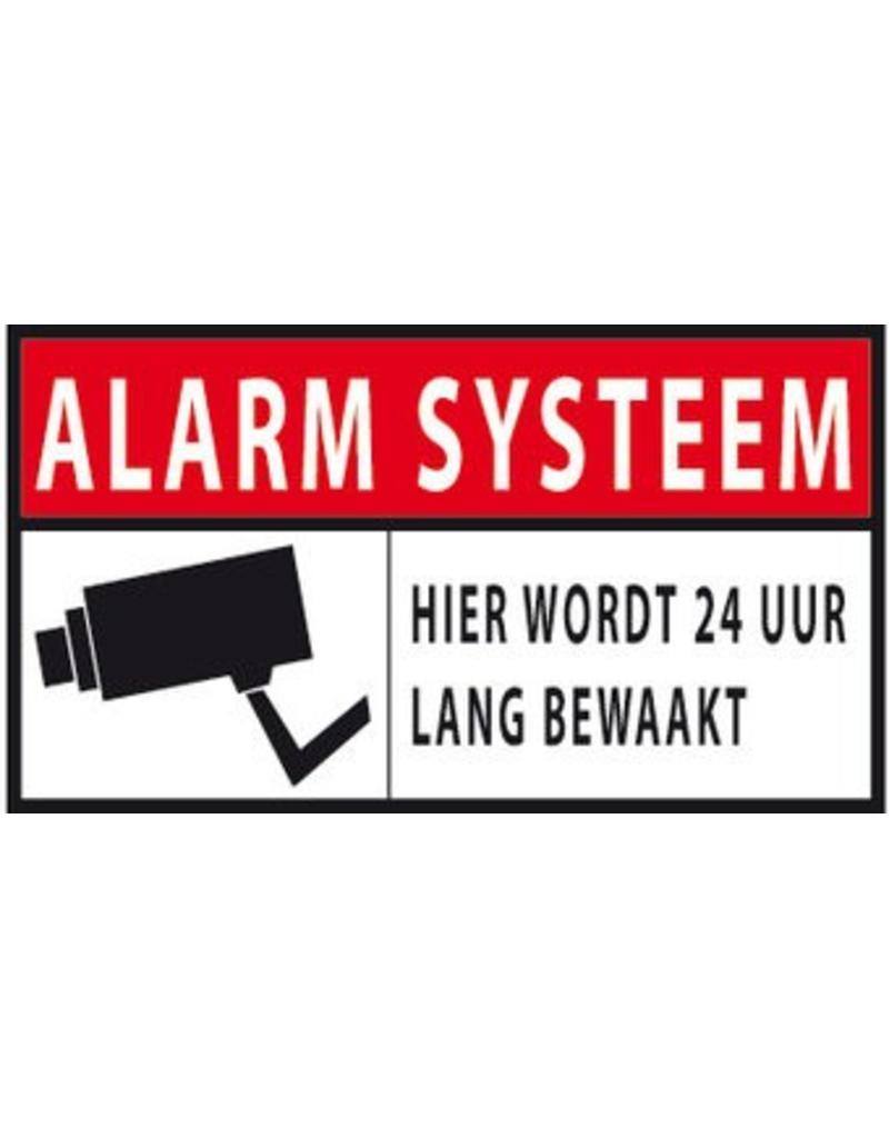 Autocollant Système d'alarme 24 heures de sécurité