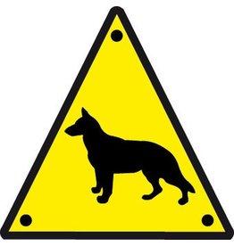 El perro vigila