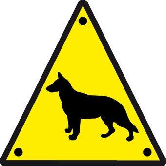 Le chien garde