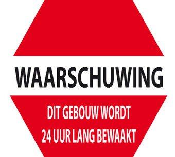 Waarschuwing 24 uur's bewaking
