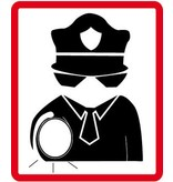 Pegatina de vigilancia