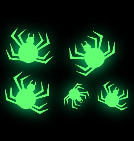 Spinnen stickers