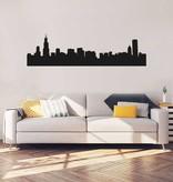 Panorama urbain Chicago Sticker