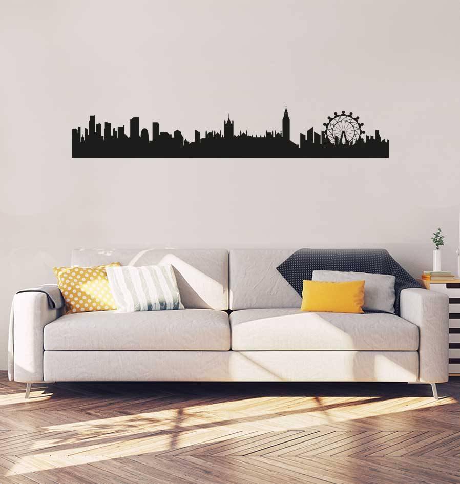 Skyline London Aufkleber