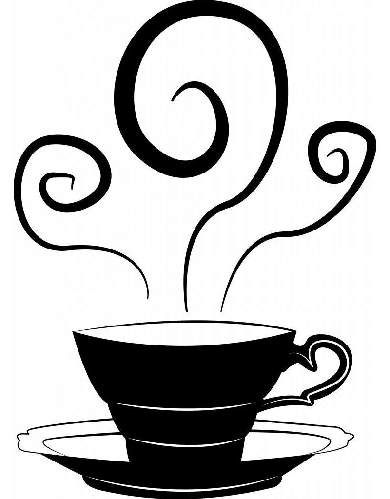 Wandaufkleber Teacup