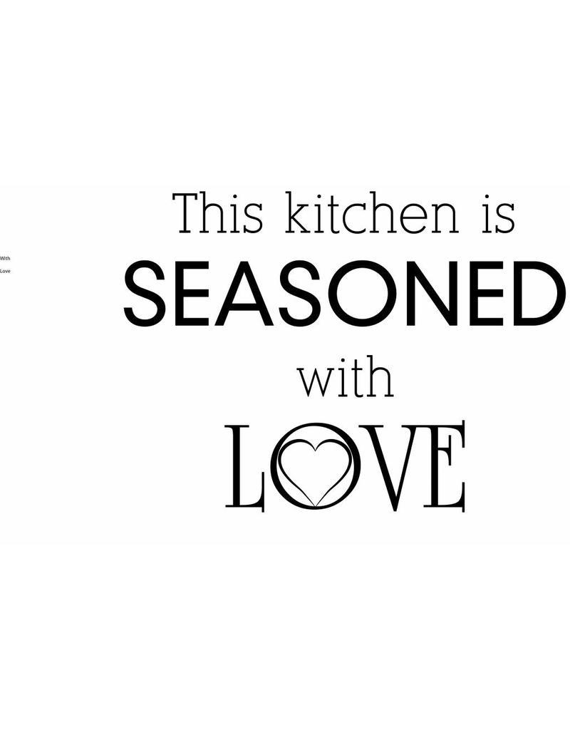 Wall Sticker kitchen text 1