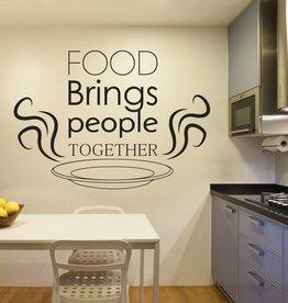 Autocollant Mural texte de cuisine 2