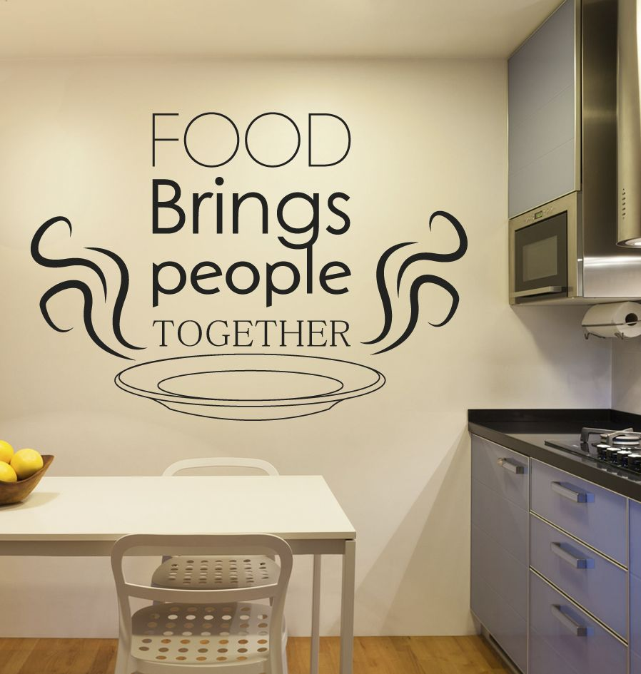 Etiqueta de la pared de la cocina de texto 2