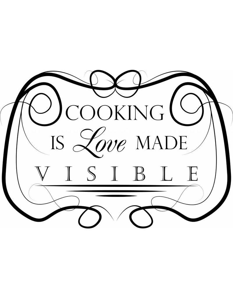 Wandaufkleber Küche Text 5