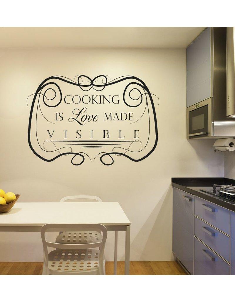 Autocollant Mural texte de cuisine 5