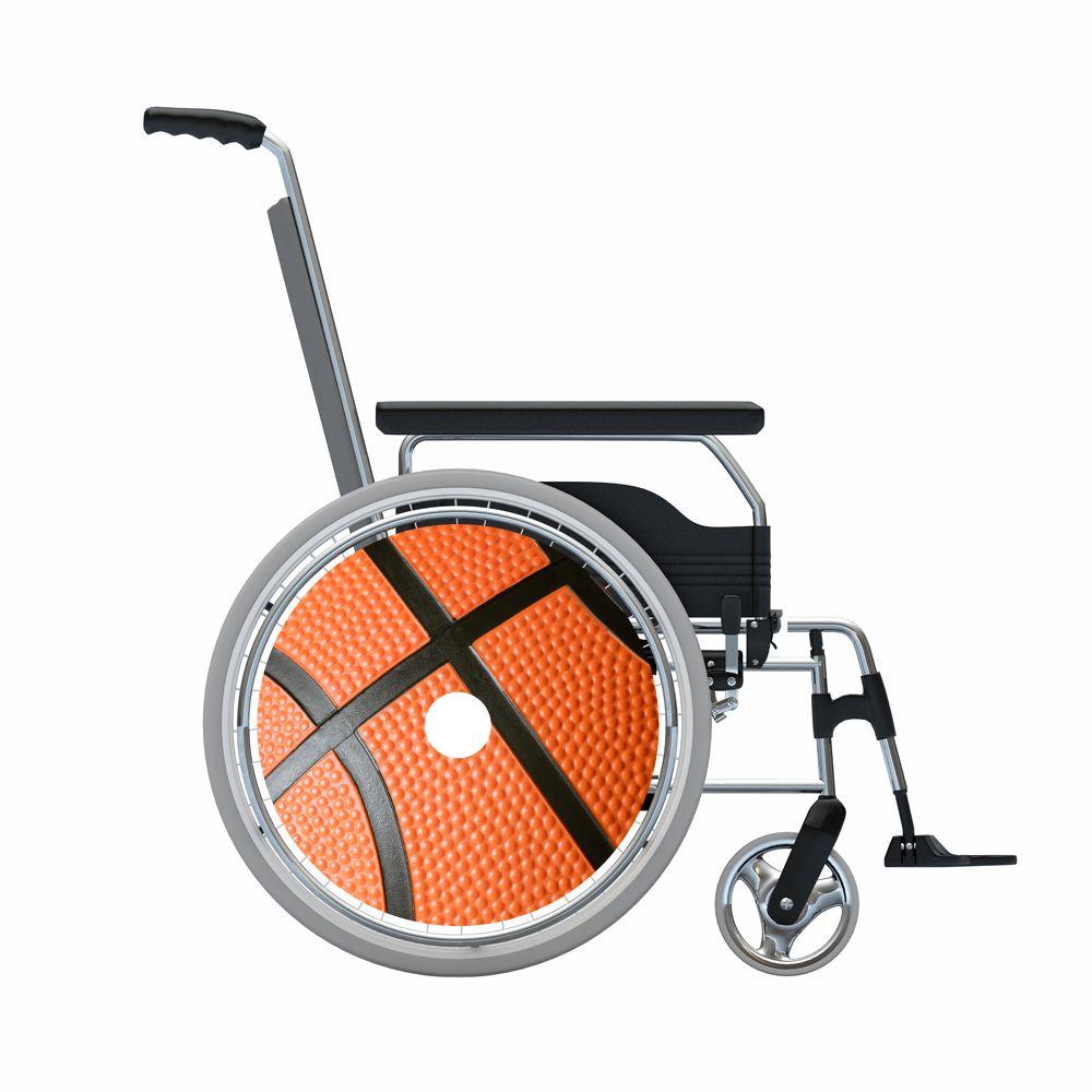 Pegatina protector de radios baloncesto