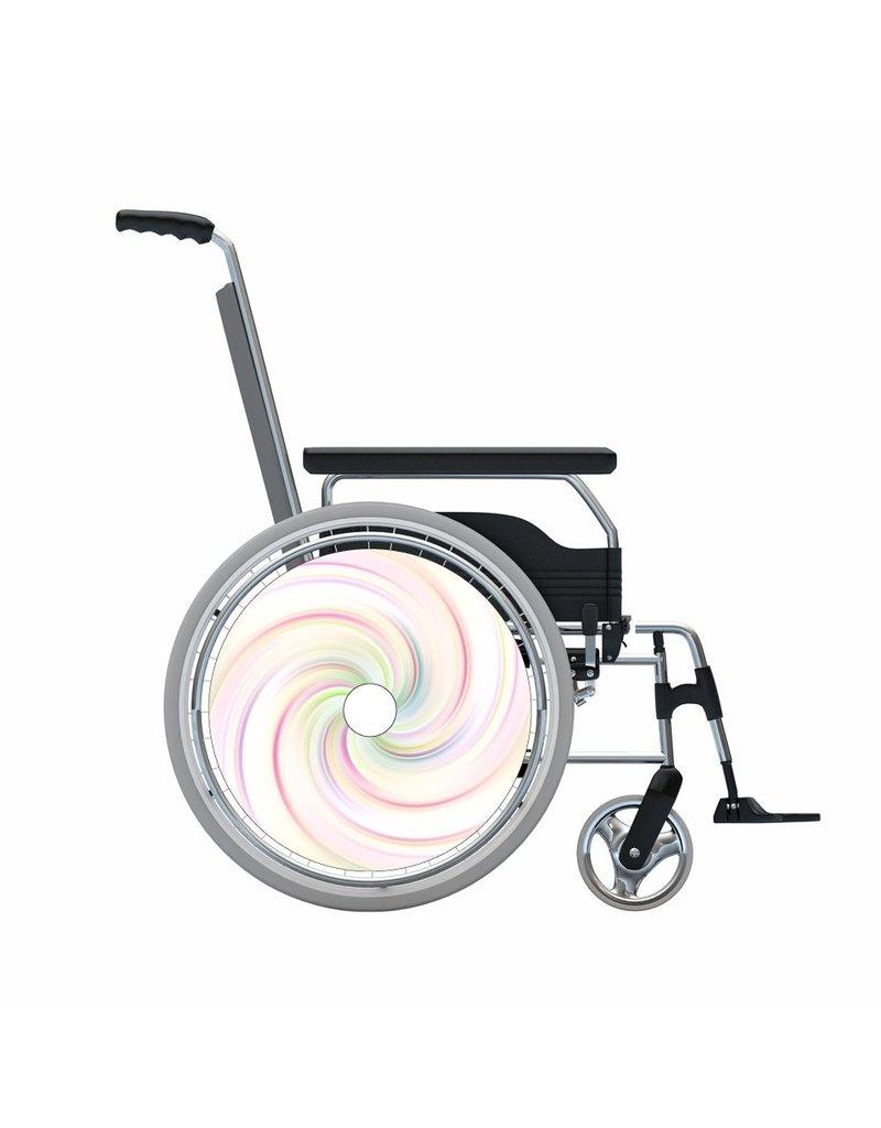 Autocollant protège-rayon pastel swirl