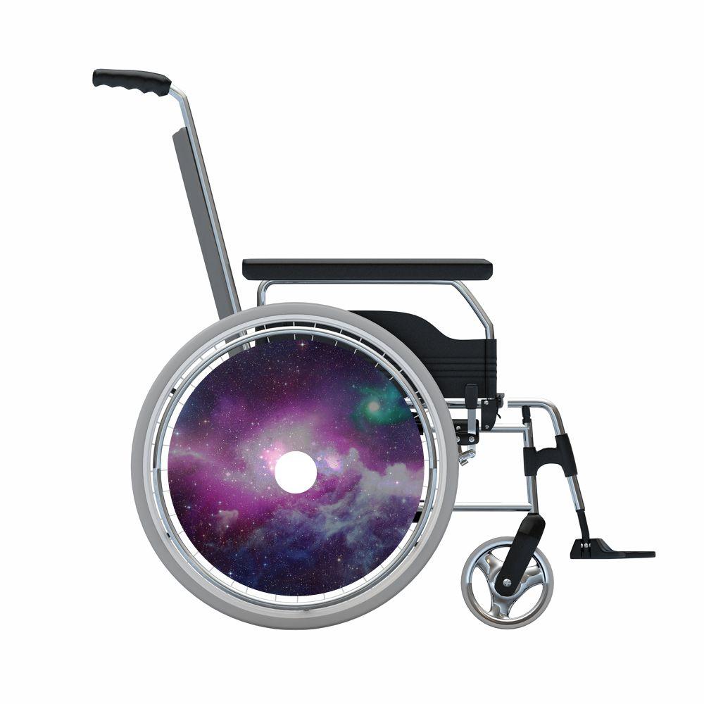 Autocollant protège-rayon espace violet