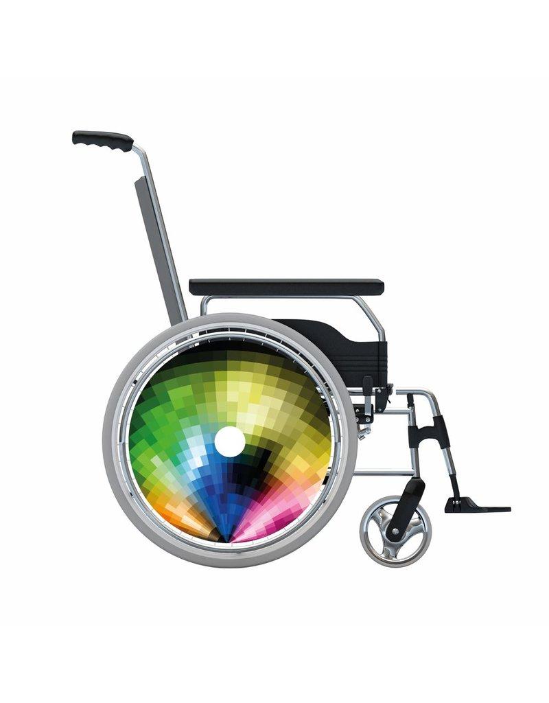 Speichenschutz Abstract rainbow