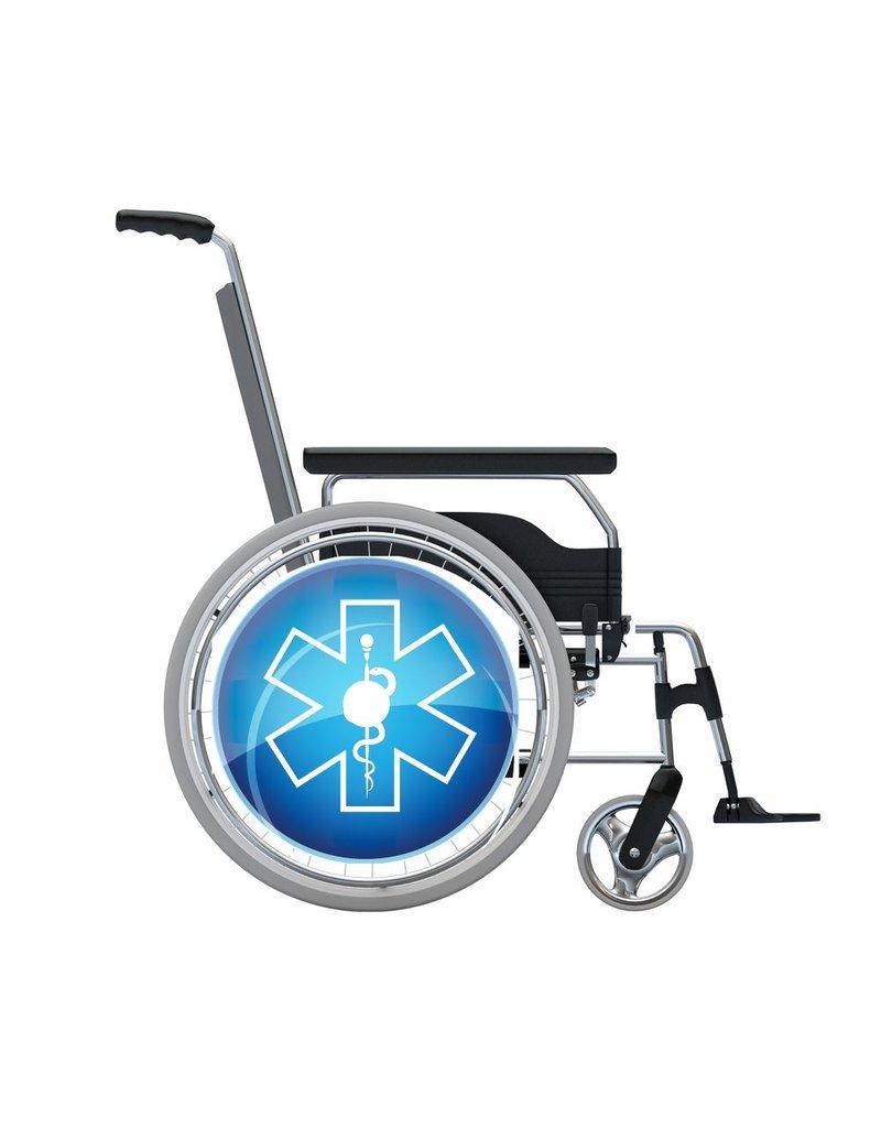 Autocollant protège-rayon modèle de soins 3