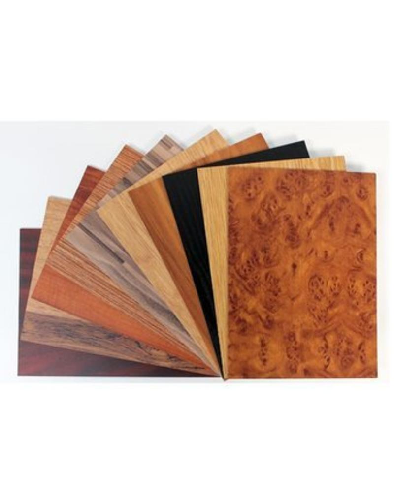 Wood budget sample box
