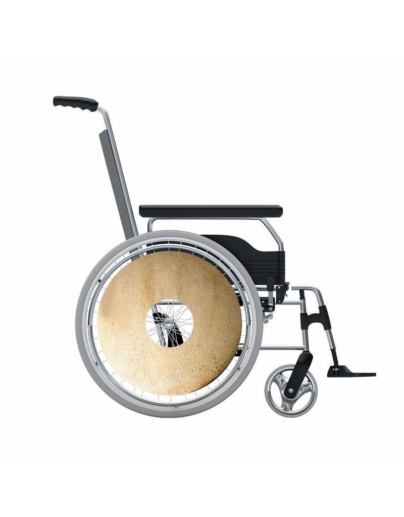 Spoke protector sticker Drum structure