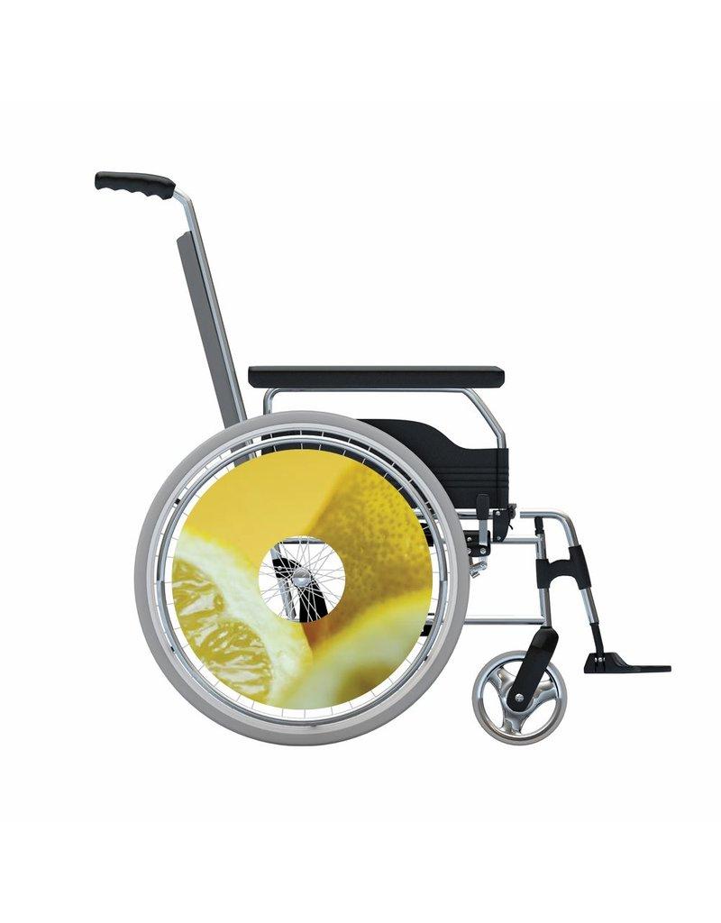 Spoke protector sticker Citron