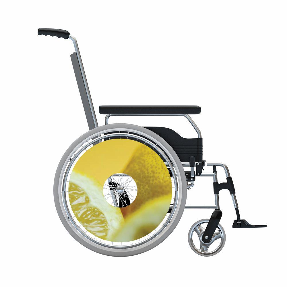 Speichenschutz Sticker Zitrone