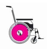 Spaakbeschermer sticker Roze