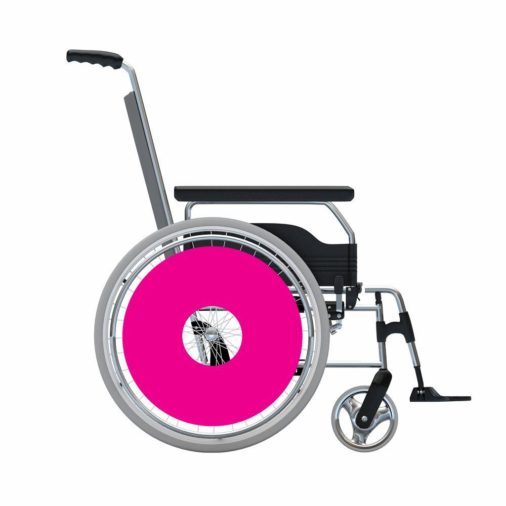 Speichenschutz Sticker Pink
