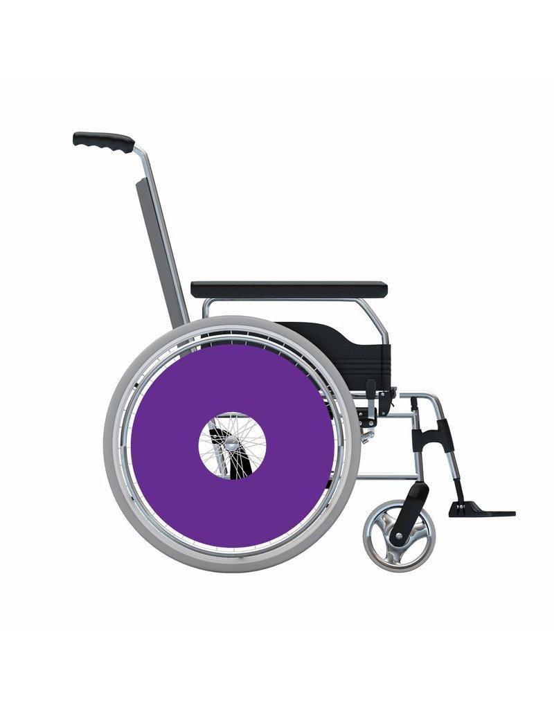 Spoke protector sticker Purple