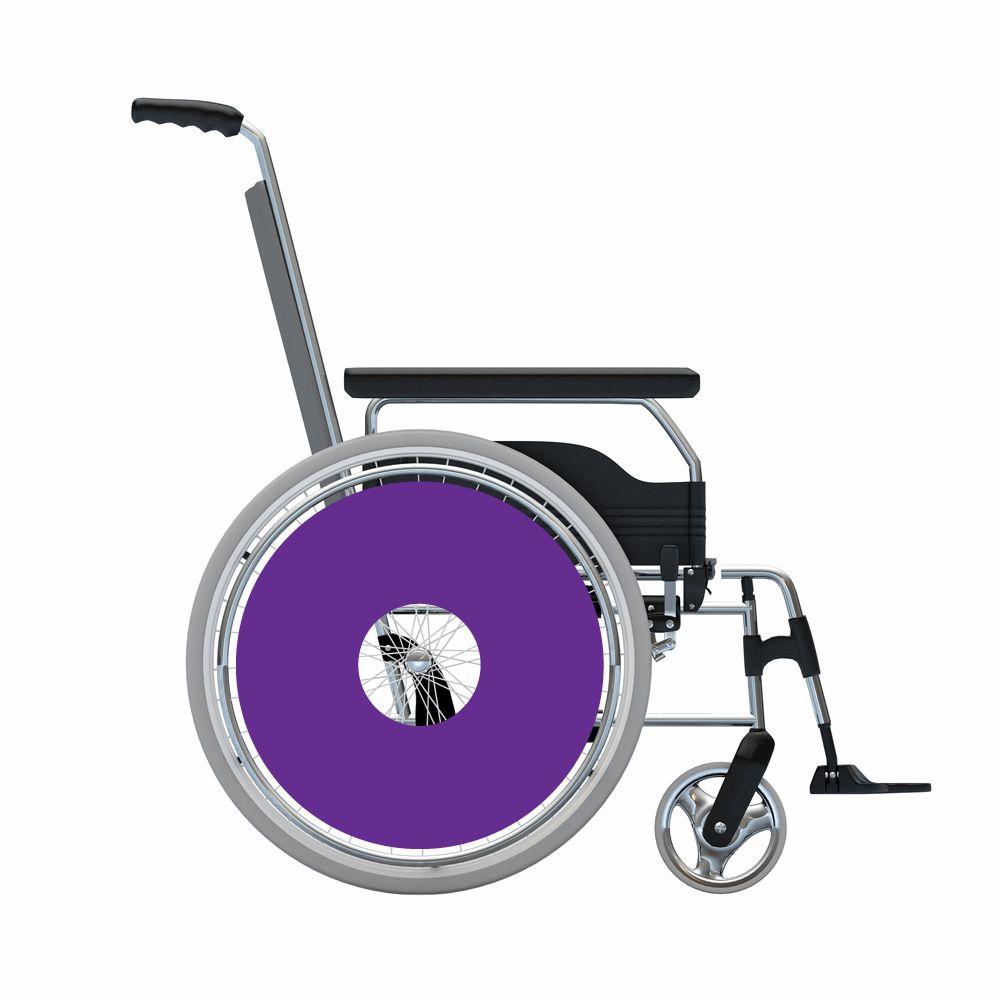 Speichenschutz Sticker Violett