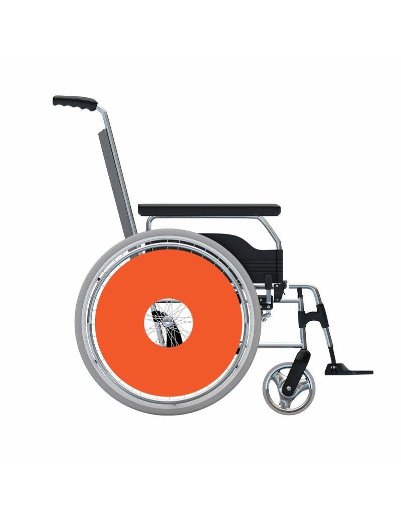 Spoke protector sticker Oranje