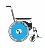 Spoke protector sticker Light Blue