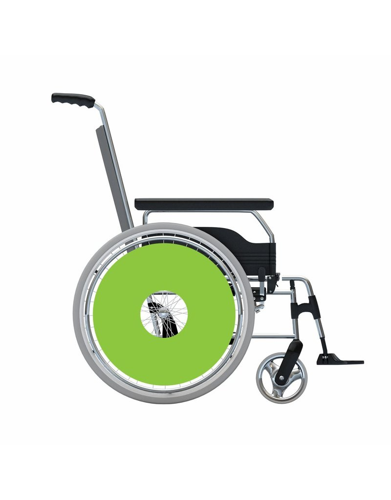 Spoke protector sticker Green