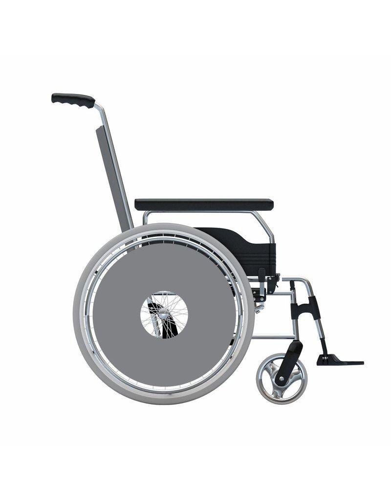 Spoke protector sticker Grey