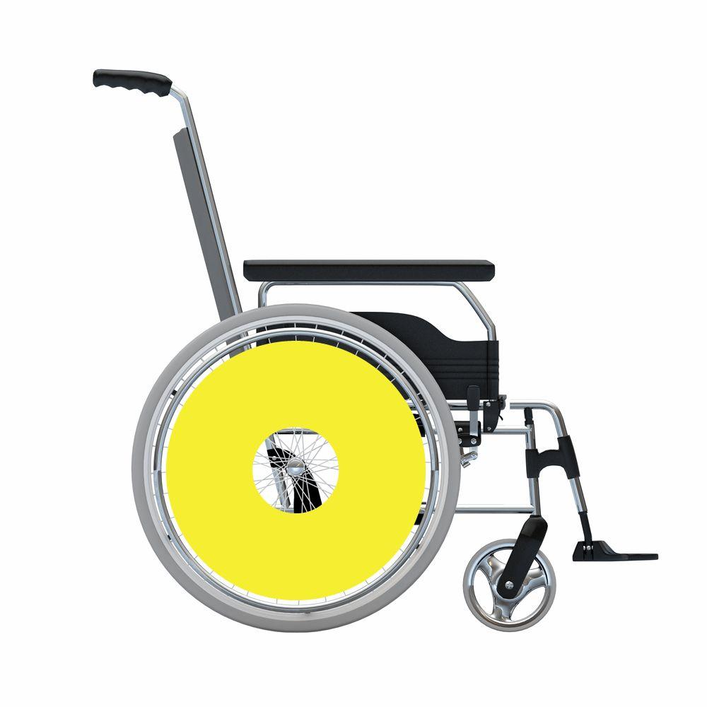 Speichenschutz Sticker Gelb