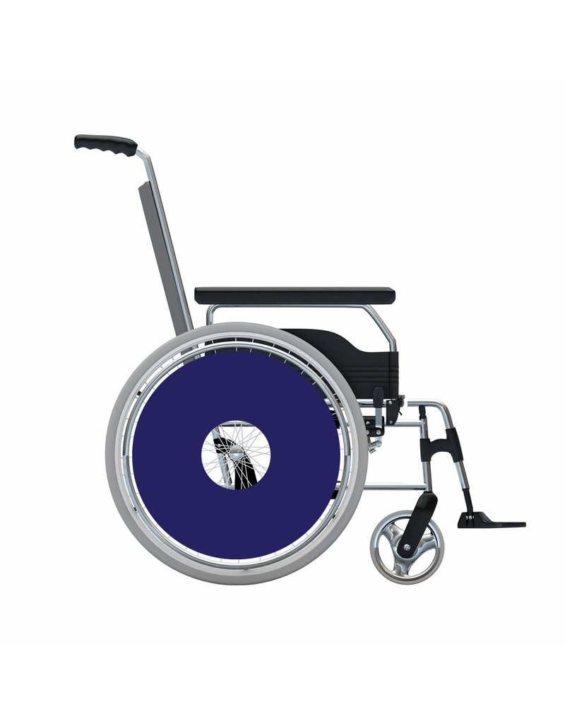 Spoke protector sticker Dark blue