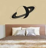 Wandaufkleber Saturn