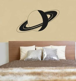 Muursticker Saturnus