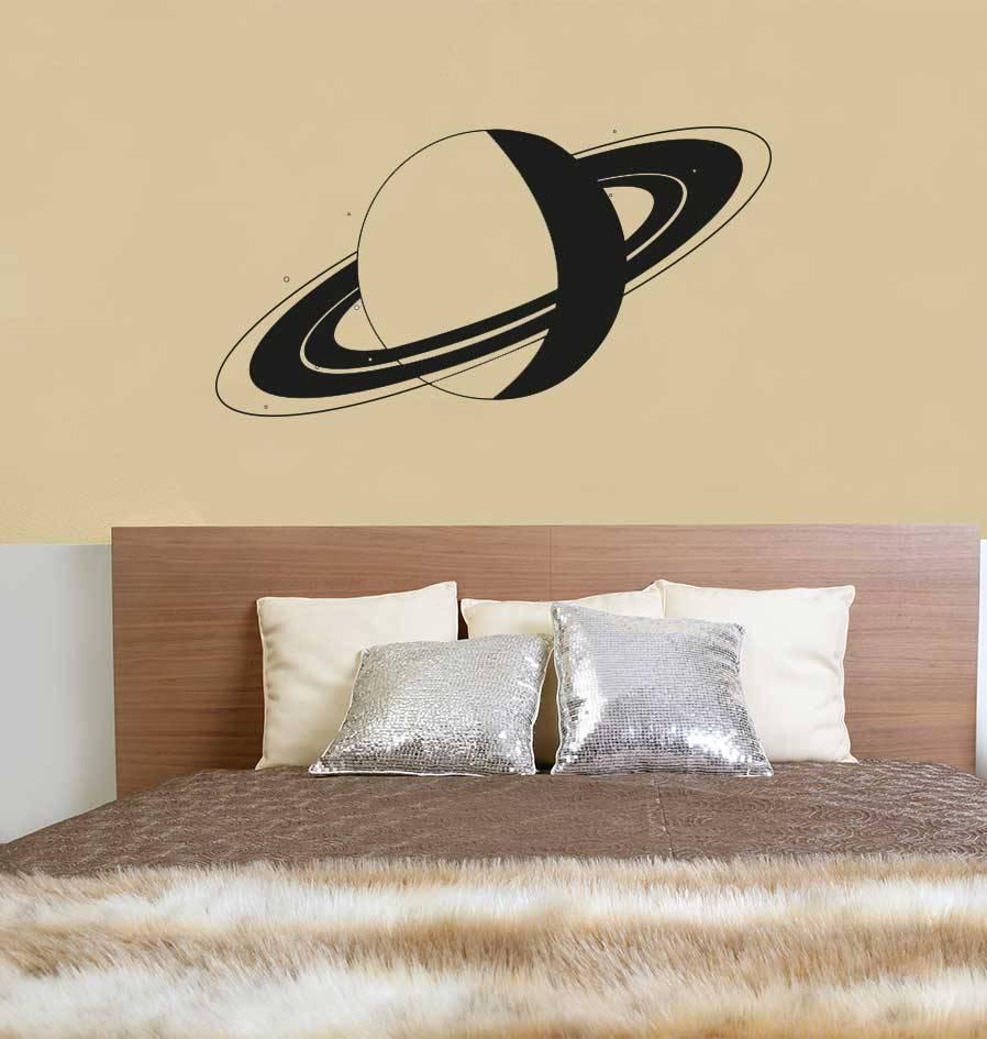 Autocollant Mural Saturn