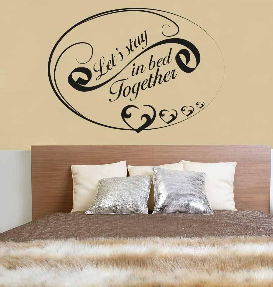 Etiqueta de la pared de texto dormitorio 2