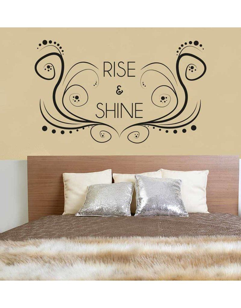 Wall Sticker bedroom text 1
