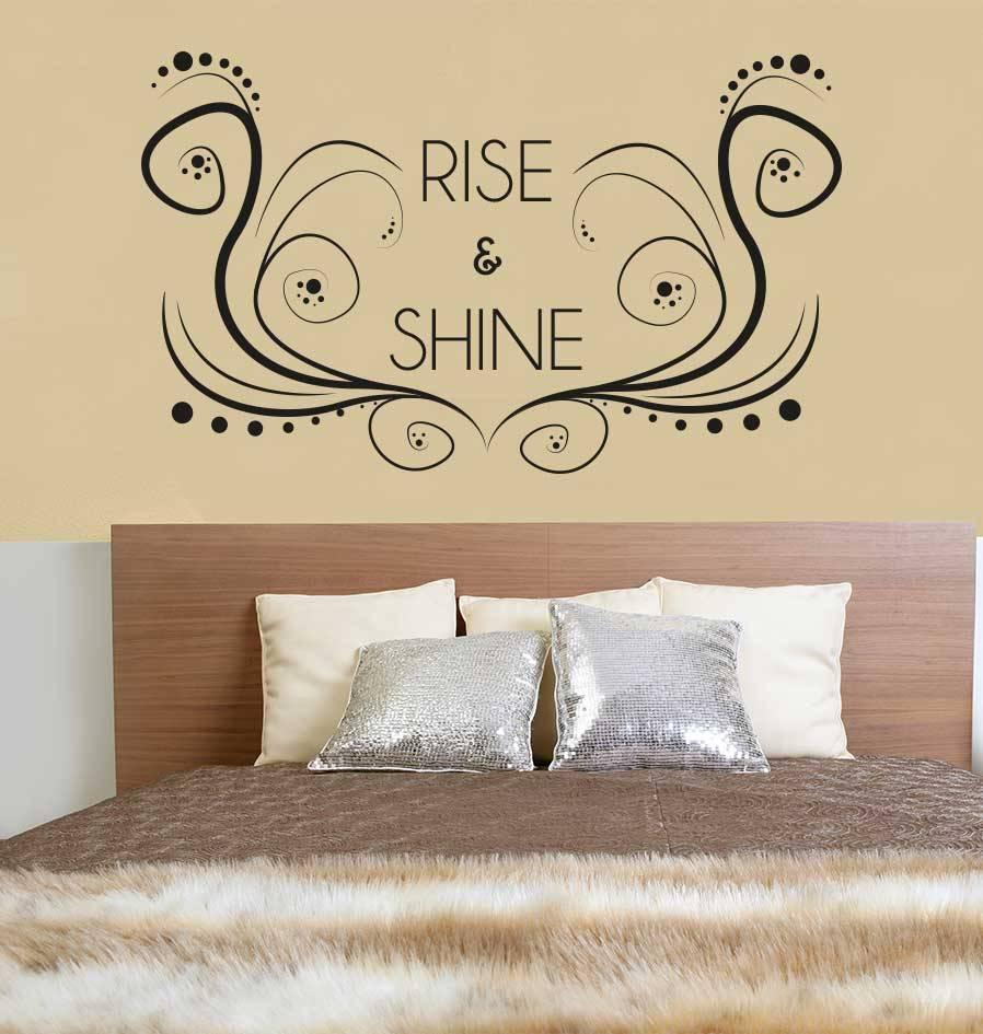 Etiqueta de la pared de texto 1 dormitorio