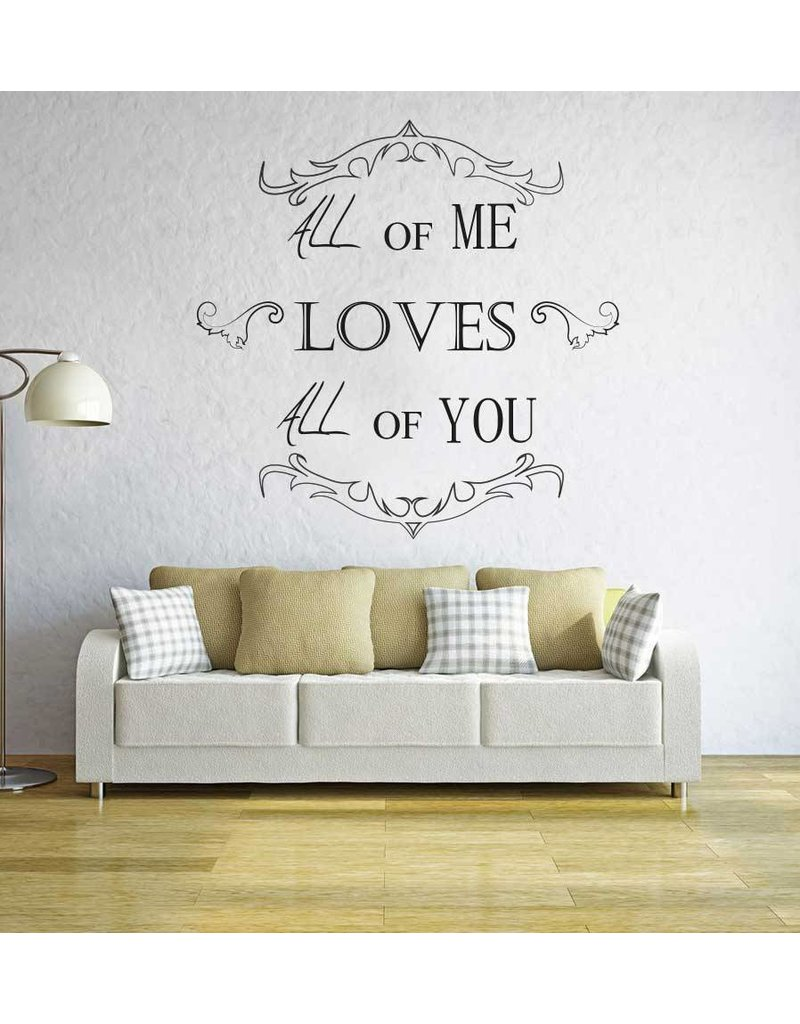 Wall Sticker lounge text 3