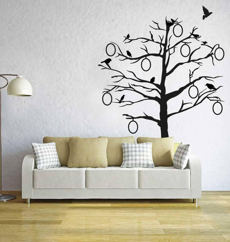Wandaufkleber Foto Baum