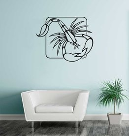 Scorpion constellation 1 autocollant
