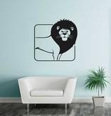 Lion Constellation sticker 1