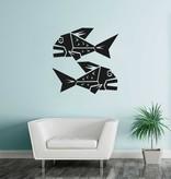 Fisch Sternzeichen Sticker