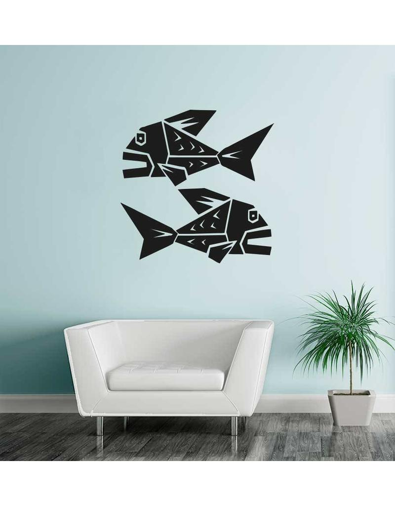 Fishes zodiac sticker