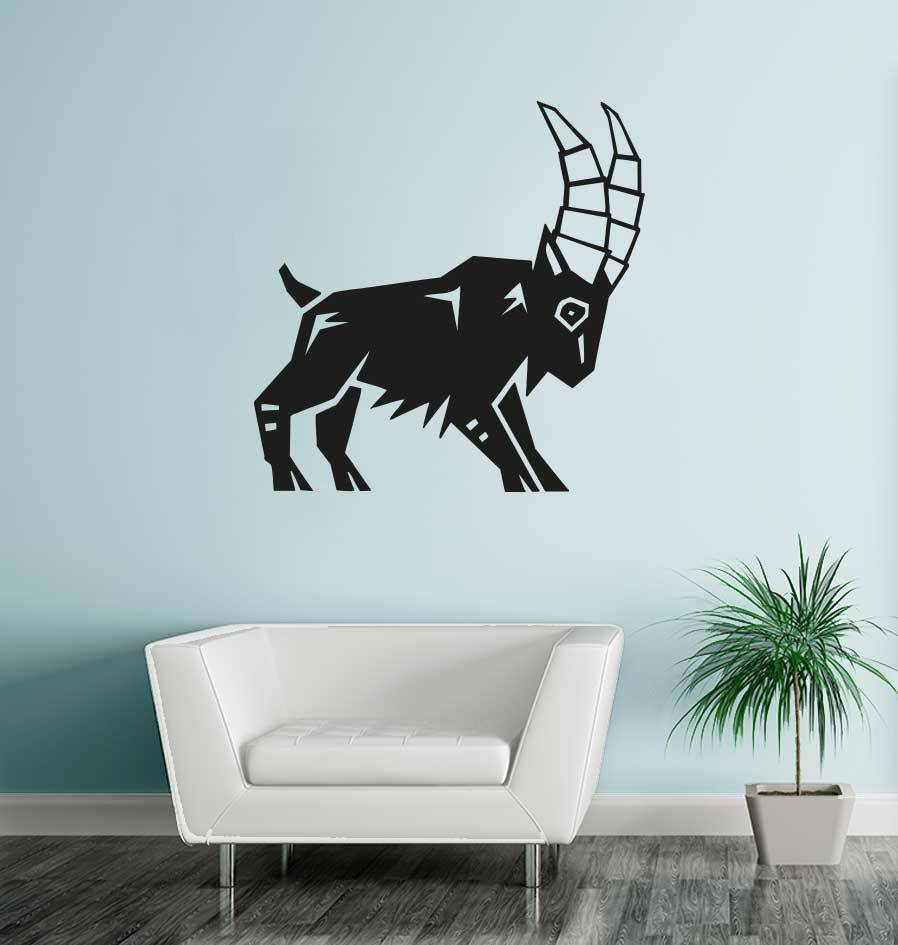 Steenbok sterrenbeeld sticker