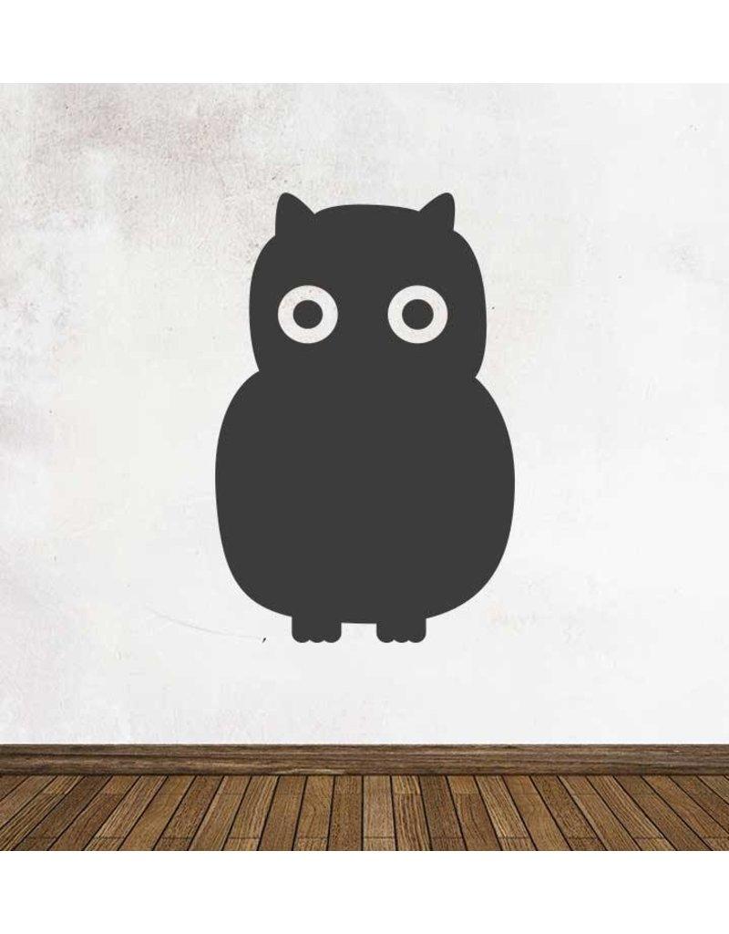 Black board Owls 5 Sticker